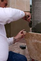 Come fare Thin Set mortaio Set Up più veloce