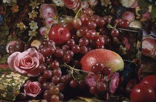 Come decorare con uva e Composizioni floreali