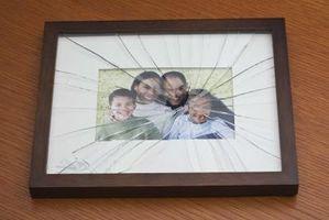 Come risolvere una crepa nel vetro su una cornice