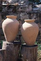Come Colla rotto ceramica all'aperto