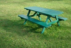 Istruzioni gratuiti su come costruire un tavolo da picnic
