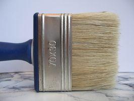 Come dipingere Blocco di cemento pareti per Interni Salone