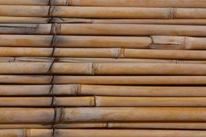 Come pulire muffa su Bamboo