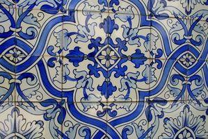 Come Tile un controsoffitto in un design Diamante