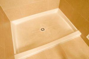 Come livello A Piano per una doccia in acrilico Pan