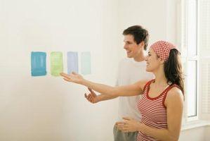 Come dipingere un Half & Half parete
