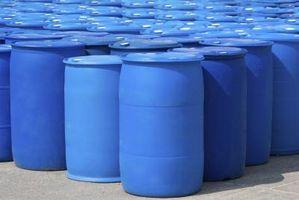 Modi per pulire 55 galloni barili di plastica