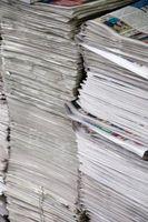 Posso usare trucioli di carta per il suolo Emendamento?