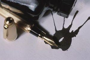 Come ottenere un inchiostro Stain Out of Carpet