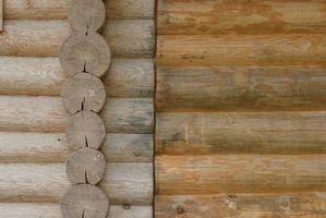 Come Stain e sigillare un Log Home