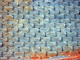 Come mantenere pareti con blocchi di cemento