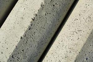 Crepe nel cemento a causa della temperatura