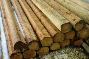 Prodotti chimici in legno trattato a pressione