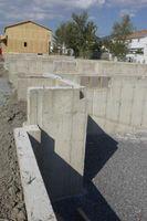 Le dimensioni dei blocchi di calcestruzzo Trench