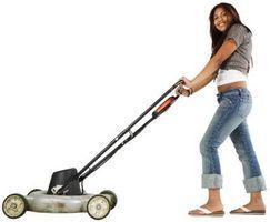 Come riparare una ruota Lawn Mower