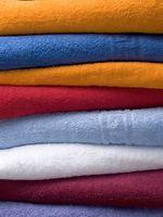 Come sbarazzarsi di Fuzz palle su Asciugamani