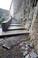 Come costruire blocco Passi in una ripida collina