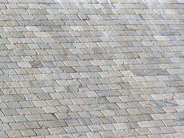 Come dipingere tetto di ardesia Piastrelle