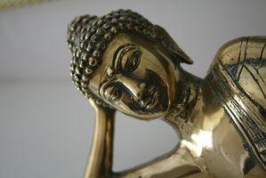 Come pulire ottone statue buddiste