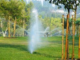 Come regolare Lawn sprinkler