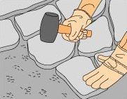 Come sostituire Patio pietre, tegole e piastrelle