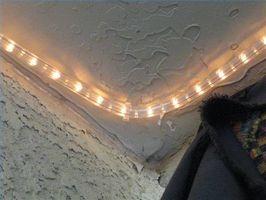 Idee di decorazione con luci della corda