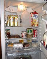 Come organizzare ripiani del frigorifero