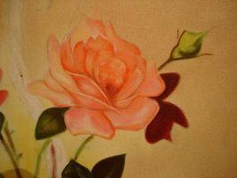 Come dipingere un fiore per la camera di una ragazza