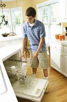 Come ottenere una lavastoviglie Vuoto di Acqua stagnante