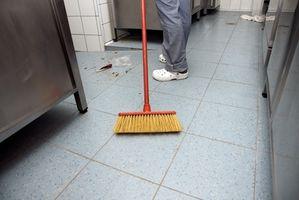 Come rimuovere macchie di ruggine dal linoleum Pavimentazione