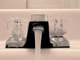Come ottenere aria dai tubi acqua per uso domestico