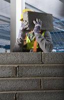 Procedure di sicurezza per Calcestruzzo installazione Muro in blocchi