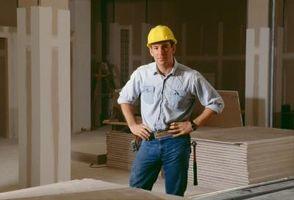 Le istruzioni del produttore per l'installazione del muro a secco