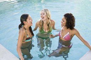 Come rimuovere Pool Cloro dai vestiti