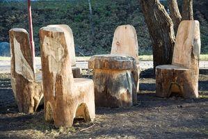 Lavorazione del legno strumenti utilizzati per le gambe Shaping Table