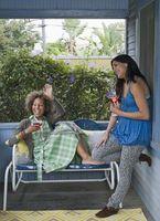 Come decorare una veranda