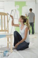 Pittura laminato mobili neri
