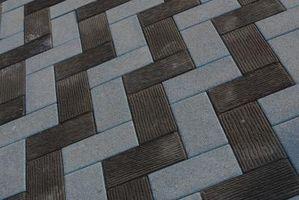 Tipi di Brick pavimentazione