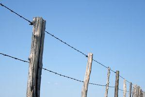 Come tagliare alberi di cedro da utilizzare come Fence Messaggi