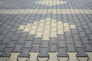 Come calcolare il numero di mattoni necessari per spianare una strada privata