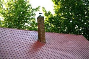 Come rimuovere nero alghe Dal tetto