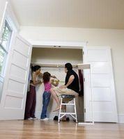 Come trasformare armadio di un bambino in una zona di divertimento