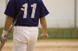 Come ottenere argilla e erba Macchie di pantaloni di baseball