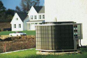 L'acqua fuoriesce dal condizionatore d'aria centrale e l'unità non si accende