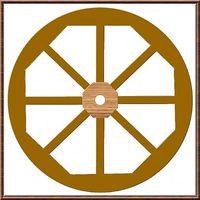 Come fare una ruota del carro in legno