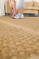 Come per tirare su tappeto da un pavimento di cemento e fai da te