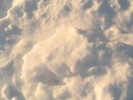 Come conservare un lanciatore di neve