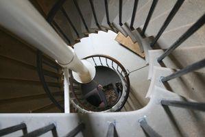 Come calcolare un Spiral Stair corrimano