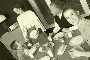 Stili dal 1940 per vostra sala da pranzo