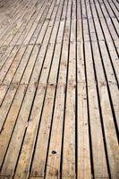 Come pulire legno con candeggina